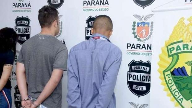 Polícia apresenta suspeitos de envolvimento no sequestro de gerente e família