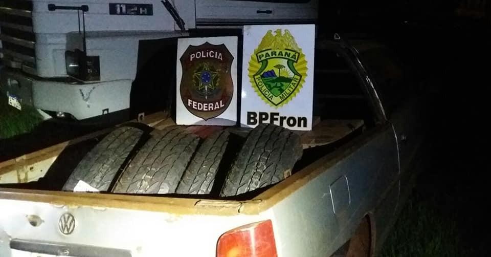 OPERAÇÃO HÓRUS impede tráfico internacional de munições, e contrabando de cigarros paraguaios e pneus.