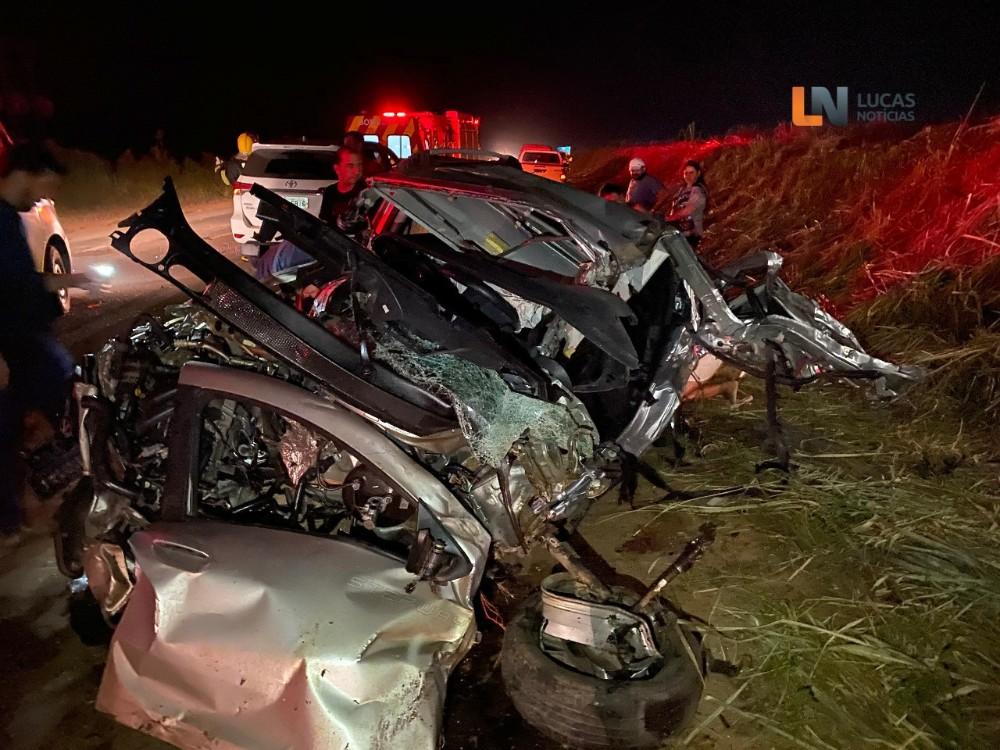 Identificada vitima que veio a óbito em grave acidente na BR 163 entre Lucas e Sorriso-MT