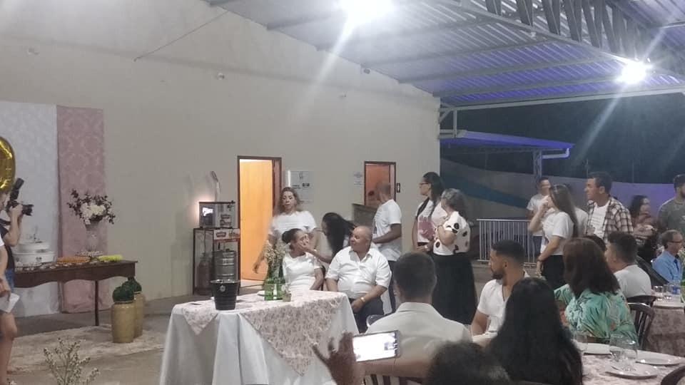 Casal Franciscoalvense Elídia e Plinio comemoram Bodas de Ouro