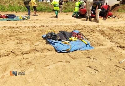 Homem sobrevive a grave acidente na BR-163 em Sorriso