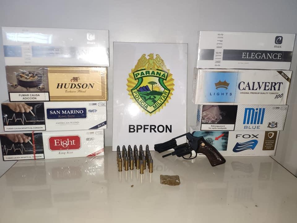BPFRON desencadeia operação contra pessoas envolvidas com furto e roubo de veículos, tráfico de drogas e contrabando em Nova Santa Rosa-PR e Marechal Cândido Rondon-PR