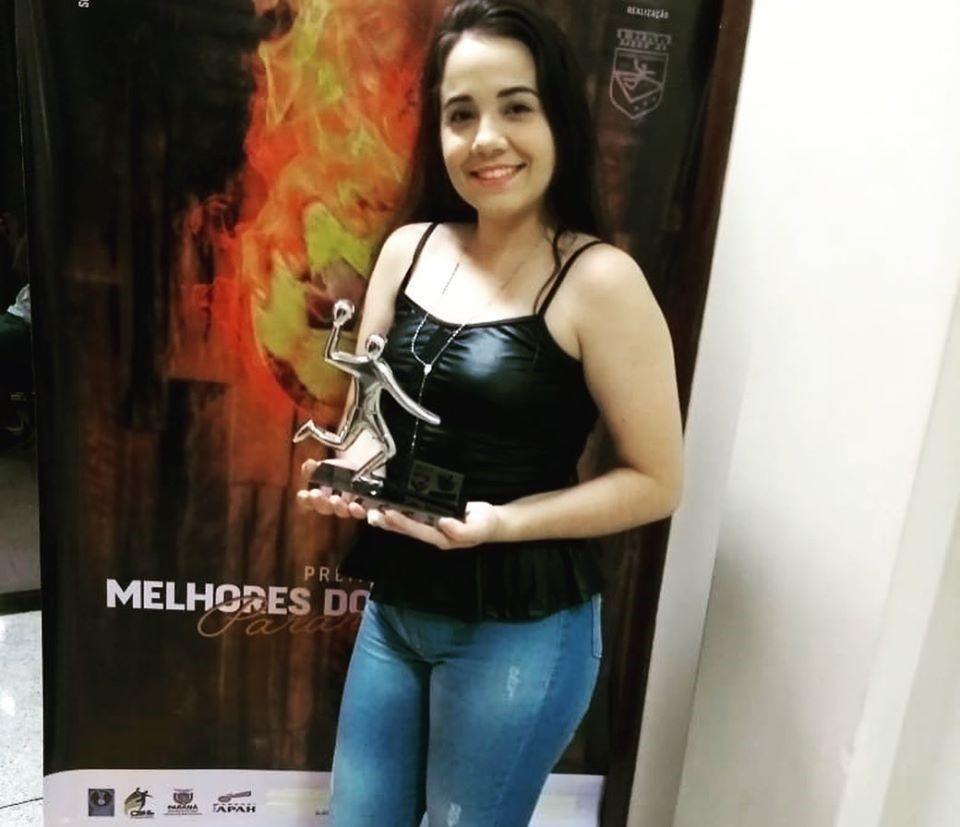 Handebol: Franciscoalvense é eleita a melhor técnica do Paraná na categoria Cadete Sub 16 Masculino