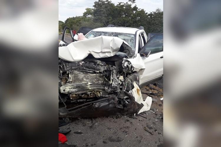 Acidente deixa seis mortos na RSC-287