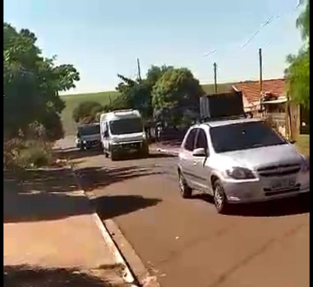 Prefeitura de Francisco Alves coloca carro de som nas ruas para convencer população de ficar em casa e evitar contaminação do coronavirus