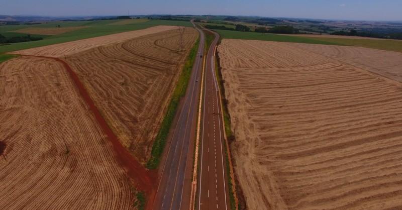 BR-163 terá mais oito quilômetros de pista duplicada a partir desta semana no Paraná