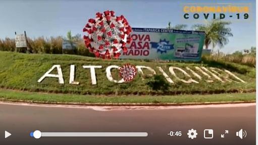 Prefeitura de Alto Piquiri inova com vídeo de alerta contra o coronavírus