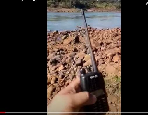 VÍDEO: Drone é utilizado para enviar contrabando do Paraguai a Foz do Iguaçu