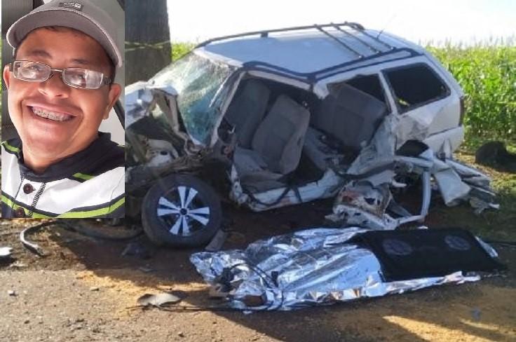 Leonildo Menezes Lima, de 33 anos de idade, conduzia o veículo Parati, Foto: Reprodução das redes sociais