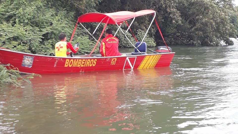 Polícia Militar localiza corpo próximo ao Rio Paraná e Bombeiros acreditam que possa ser moradora de Cascavel