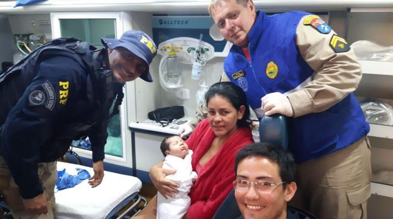 PRF salva bebê que estava engasgado em Pato Branco (PR)