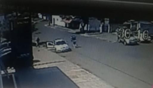 Câmeras registram tentativa de homicídio em São Miguel do Iguaçu, veja o vídeo