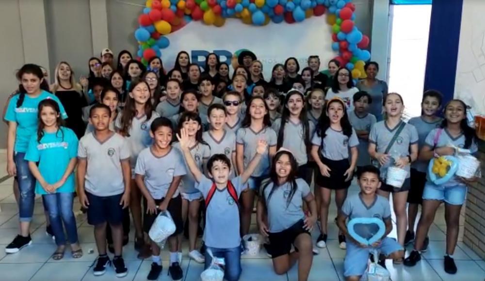 Alunos de escolas municipais recebem premiação do Televisando 2019
