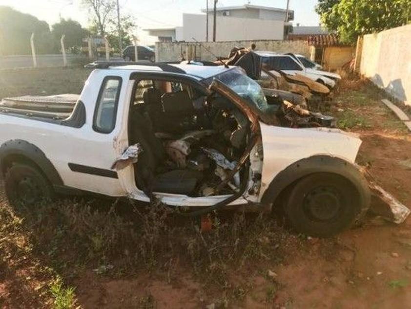 Empresário morre em colisão traseira durante a madrugada em Moreira Sales