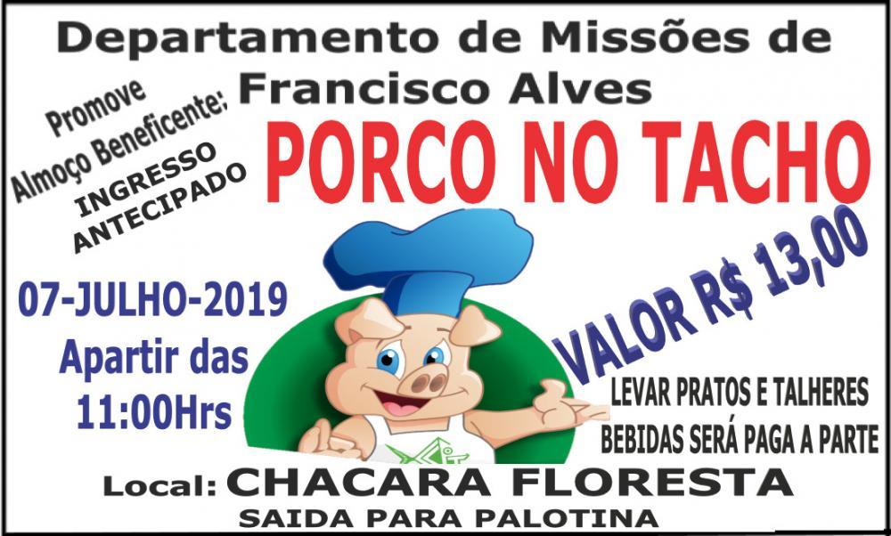 Local Chácara Floresta, saída para Palotina