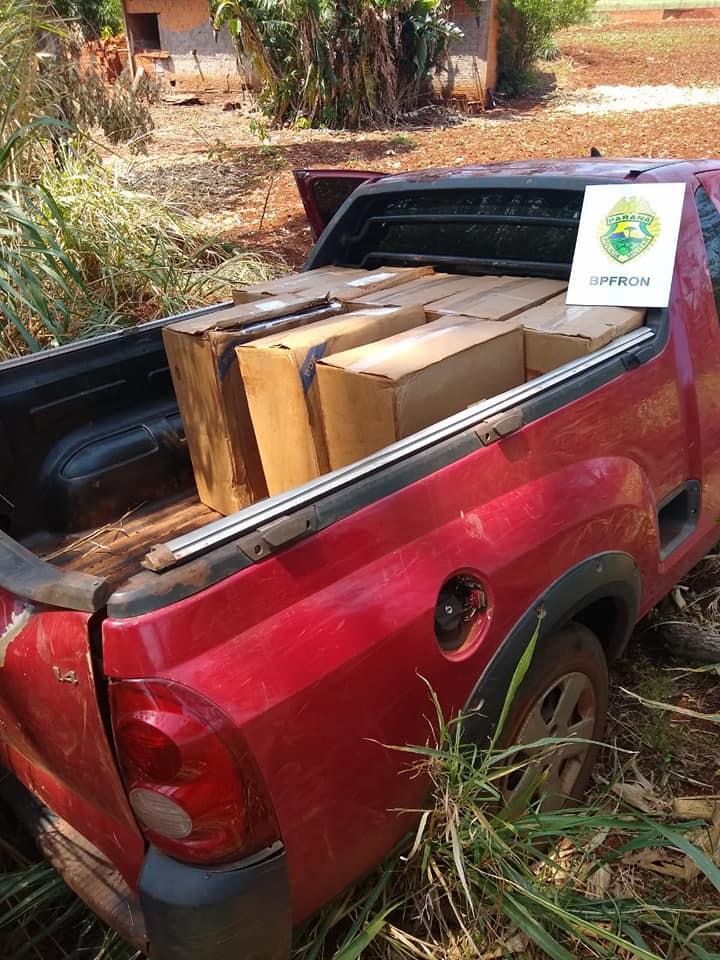 BPFRON apreende dinheiro, munições e cigarros em Santa Helena-PR