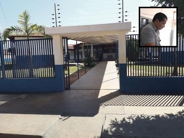 Professor invade escola, esfaqueia diretora e tenta matar funcionária em MT